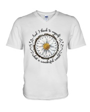 And I Think To Myself D01322 V-Neck T-Shirt thumbnail