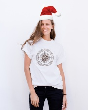 Not All Those Who Wander Are Lost Classic T-Shirt lifestyle-holiday-crewneck-front-1
