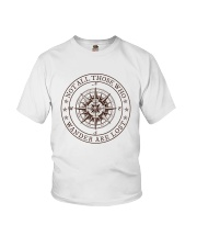 Not All Those Who Wander Are Lost Youth T-Shirt thumbnail
