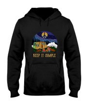 Keep It Simple D0924 Hooded Sweatshirt front
