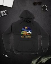 Keep It Simple D0924 Hooded Sweatshirt lifestyle-unisex-hoodie-front-9