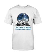 Myself What A Wonderful World Classic T-Shirt thumbnail