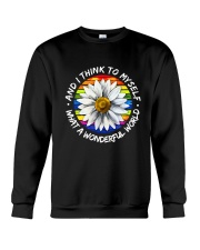 And I Think To Myself D01055 Crewneck Sweatshirt thumbnail