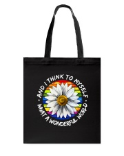 And I Think To Myself D01055 Tote Bag thumbnail