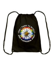 And I Think To Myself D01055 Drawstring Bag tile