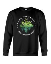 And I Think To Myself D0597 Crewneck Sweatshirt thumbnail