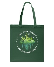 And I Think To Myself D0597 Tote Bag thumbnail