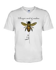 Whisper Words Of Wisdom A0154 V-Neck T-Shirt thumbnail