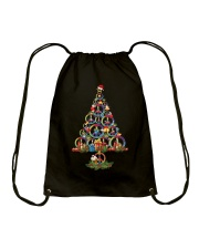 Hippie Tree  Drawstring Bag tile