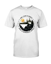And I Think To Myself D0891 Classic T-Shirt thumbnail