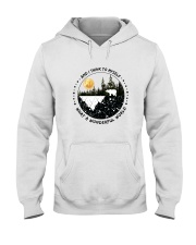 And I Think To Myself D0891 Hooded Sweatshirt front