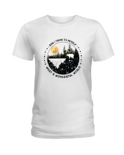 And I Think To Myself D0891 Ladies T-Shirt thumbnail