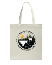 And I Think To Myself D0891 Tote Bag thumbnail