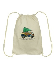 The Most Wonderful Time Of The Year A0077 Drawstring Bag thumbnail
