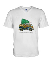 The Most Wonderful Time Of The Year A0077 V-Neck T-Shirt thumbnail