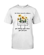 You Belong Among The Wildflowers D0816 Classic T-Shirt thumbnail