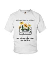 You Belong Among The Wildflowers D0816 Youth T-Shirt thumbnail