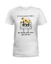 You Belong Among The Wildflowers D0816 Ladies T-Shirt thumbnail