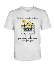 You Belong Among The Wildflowers D0816 V-Neck T-Shirt thumbnail