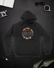Oh My My Oh Hell Yes D0774 Hooded Sweatshirt lifestyle-unisex-hoodie-front-9