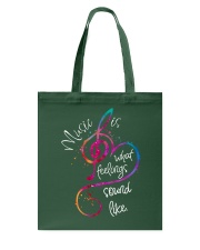 Music Is What Feelings Sound Like D0211 Tote Bag thumbnail