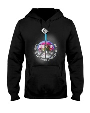 Living Life In Peace A0171 Hooded Sweatshirt front