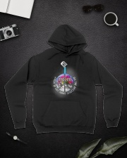 Living Life In Peace A0171 Hooded Sweatshirt lifestyle-unisex-hoodie-front-9