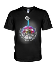 Living Life In Peace A0171 V-Neck T-Shirt thumbnail