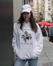 Myself What A Wonderful World Hooded Sweatshirt lifestyle-unisex-hoodie-front-5