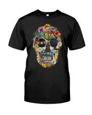 Hippie Flowers A0215 Classic T-Shirt thumbnail