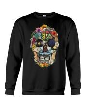 Hippie Flowers A0215 Crewneck Sweatshirt thumbnail