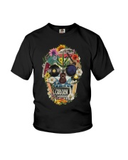 Hippie Flowers A0215 Youth T-Shirt thumbnail