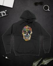 Hippie Flowers A0215 Hooded Sweatshirt lifestyle-unisex-hoodie-front-9
