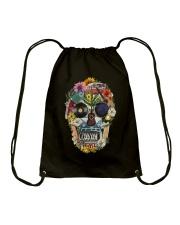 Hippie Flowers A0215 Drawstring Bag thumbnail
