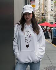 Whisper Words Of Wisdom D0475 Hooded Sweatshirt lifestyle-unisex-hoodie-front-5