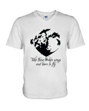Take These Broken Wings D01032 V-Neck T-Shirt thumbnail