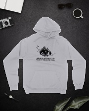 And Into The Forest I Go Hooded Sweatshirt lifestyle-unisex-hoodie-front-9