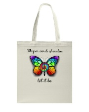 Whisper Words Of Wisdom Let It Be A0001 Tote Bag thumbnail