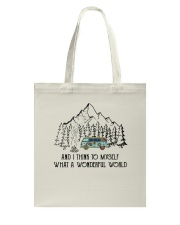 And I Think To Myself D0634 Tote Bag thumbnail