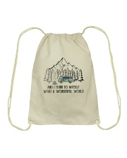 And I Think To Myself D0634 Drawstring Bag tile
