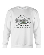 And I Think To Myself D0634 Crewneck Sweatshirt thumbnail