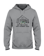 And I Think To Myself D0634 Hooded Sweatshirt front