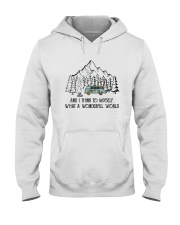 And I Think To Myself D0634 Hooded Sweatshirt tile