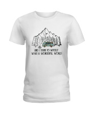 And I Think To Myself D0634 Ladies T-Shirt thumbnail
