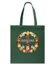 Imagine Flowers Hippie  Tote Bag thumbnail