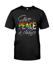 Give Peace A Chance D01146 Classic T-Shirt front