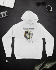 You May Say I'm A Dreamer D0969 Hooded Sweatshirt lifestyle-unisex-hoodie-front-9