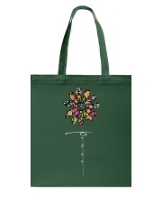 Peace Hippie Flowers A0144 Tote Bag thumbnail