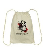 Blackbird Singing D01081 Drawstring Bag thumbnail