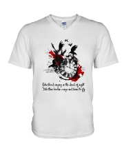 Blackbird Singing D01081 V-Neck T-Shirt thumbnail